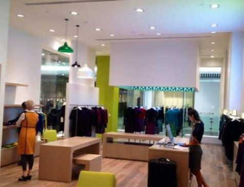 Solid Timber Flooring Installation Melbourne Commercial clothes store