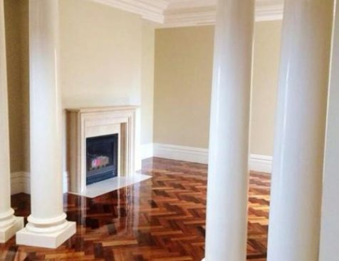 Solid Timber Flooring Polishing Melbourne Residential home