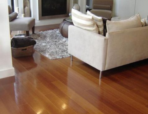 Solid Timber Flooring installation spotted gum Melbourne Residential home