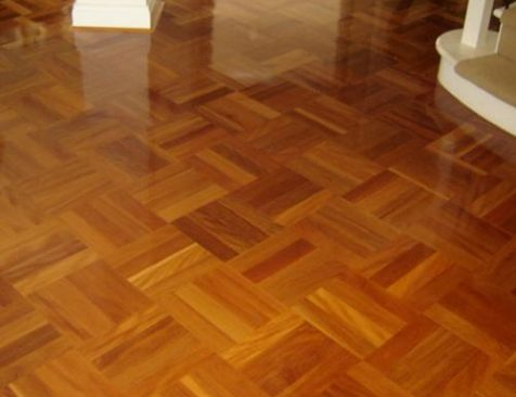 Brushbox parquetry Timber floor Residential